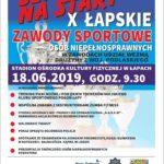 """Zawody Sportowe Osób Niepełnosprawnych """"Szansa na Start"""""""